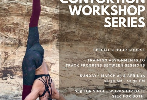 Contortion workshop, exciting changes, and more!