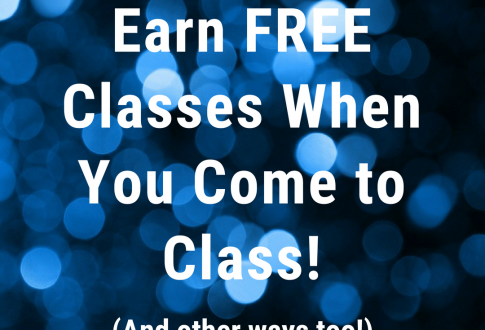 Earn FREE Classes, Give Us Your 2 Cents, and New Video!