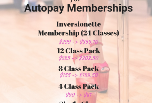 10% Off Class Packages, The Anniversary Party, Shari's NEW Tutorial